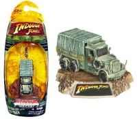 Indiana Jones: Raiders of the Lost Ark Cargo Truck - Titanium Series Die-Cast Model